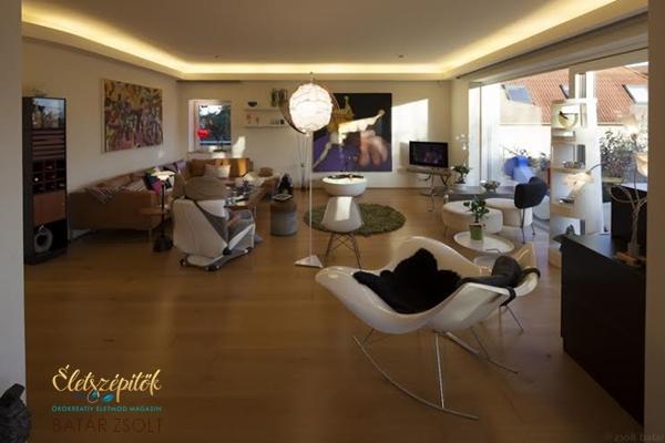Modern budai passzívház | Képes összeállítás