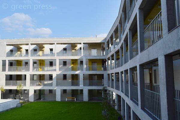 Százlakásos passzívház Angyalföldön | Hamarosan beköltözhetnek a bérlők